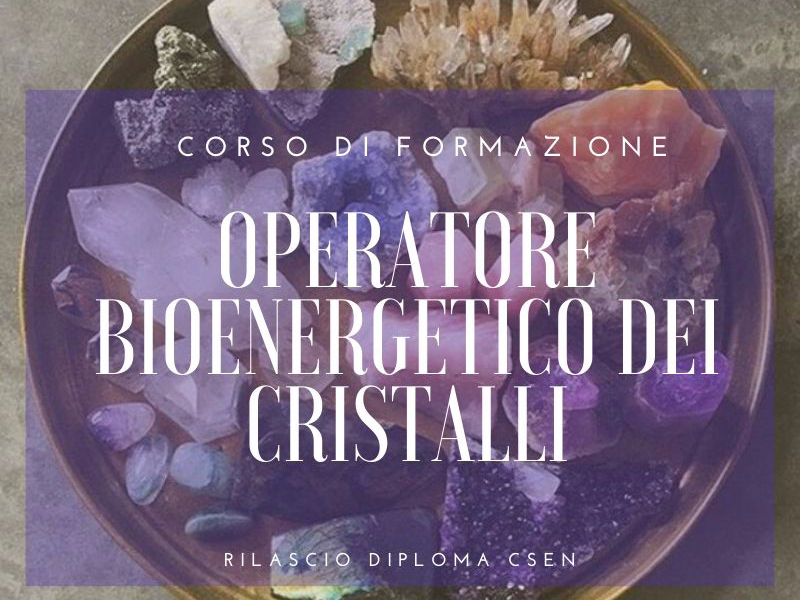 OlisticMap - Operatore Bioenergetico dei Cristalli