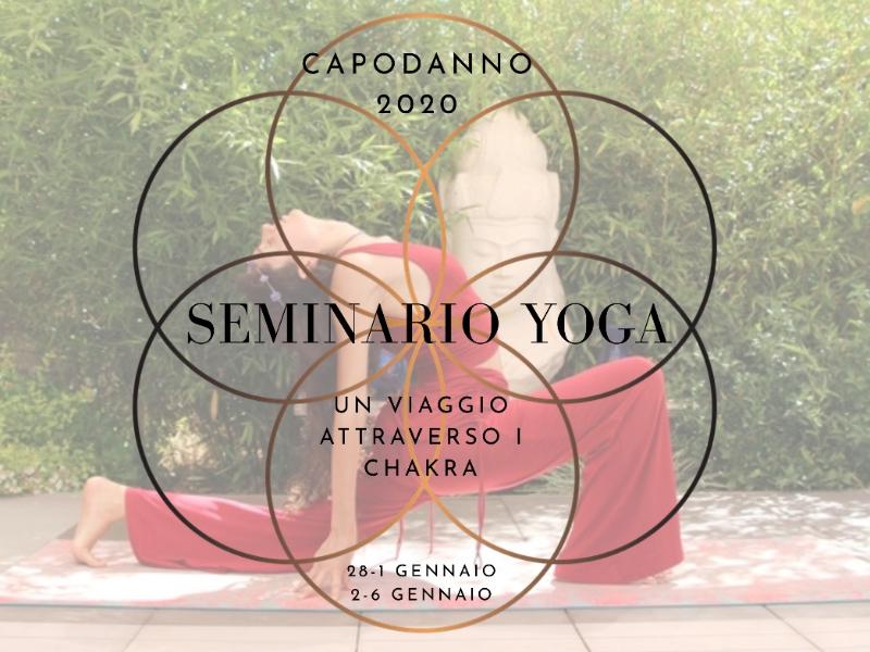 Olisticmap - Seminario Yoga Capodanno, viaggio attraverso i chakra