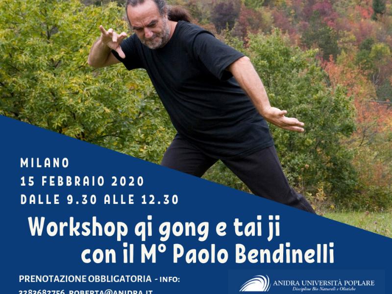 Olisticmap - workshop di taiji e qi gong con il M° Paolo Bendinelli