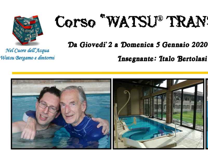 Olisticmap - Corso Watsu®