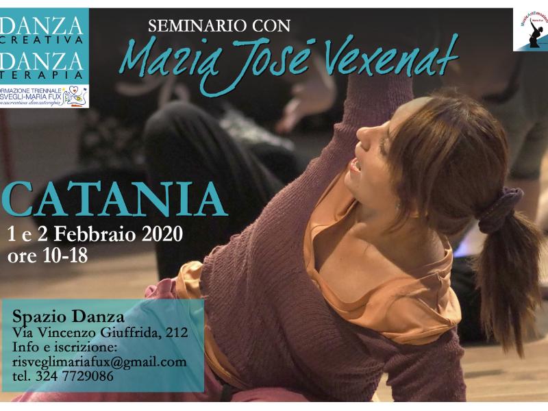 Olisticmap - Catania'20 Seminario Danzacreativa/Danzaterapia con Maria Josè Vexenat