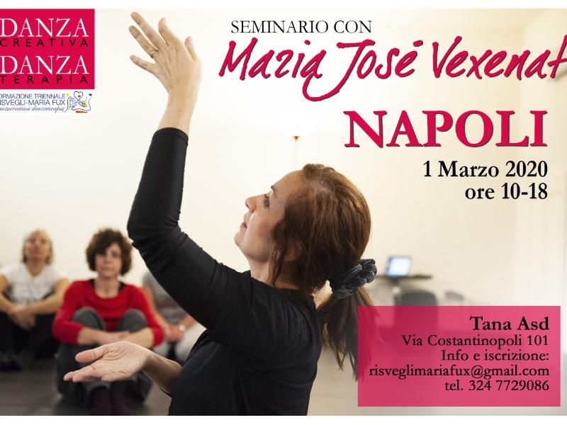 Olisticmap - Napoli'20 Seminario Danzacreativa/Danzaterapia con Maria Josè Vexenat