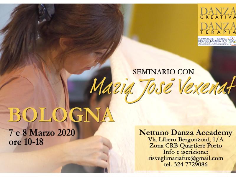 Olisticmap - Bologna'20 Seminario Danzacreativa/Danzaterapia con Maria Josè Vexenat