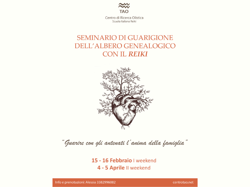 Olisticmap - Guarigione dell'Albero Genealogico con il Reiki