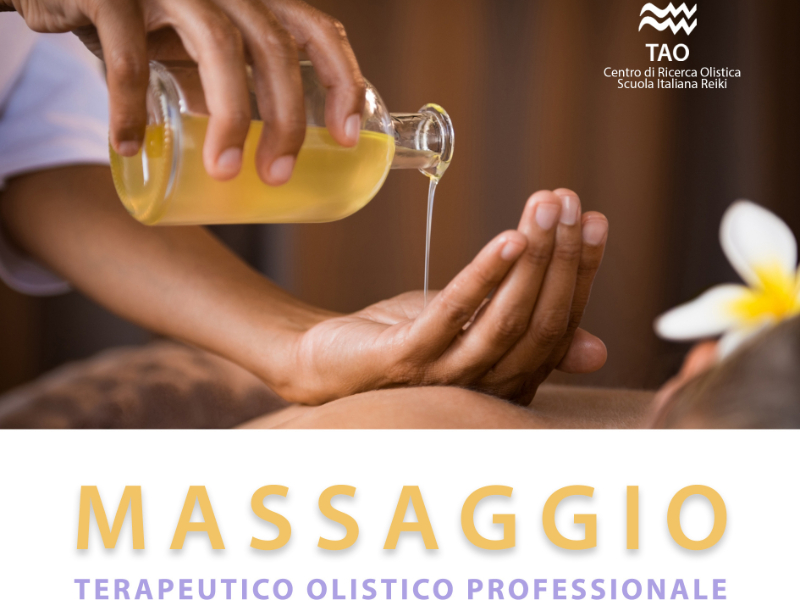 Olisticmap - Corso di Formazione Massaggio Terapeutico Olistico Professionale