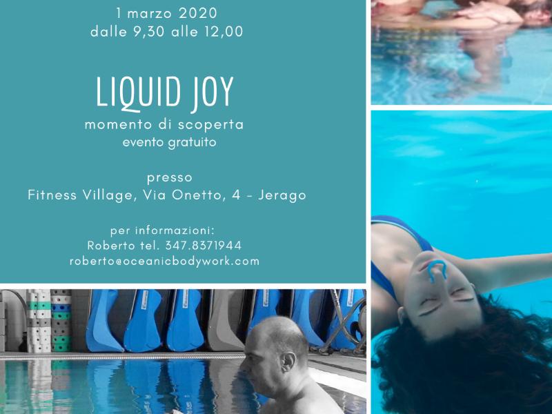 Olisticmap - Presentazione Liquid Joy