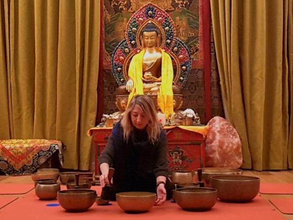 Olisticmap - Bagno sonoro con campane tibetane e Yoga Nidra – Promozione