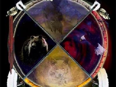 Olisticmap - Gli animali totem nella ruota di medicina