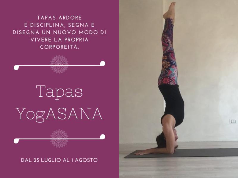 Olisticmap - Tapas Yogasana 25 luglio - 1 agosto