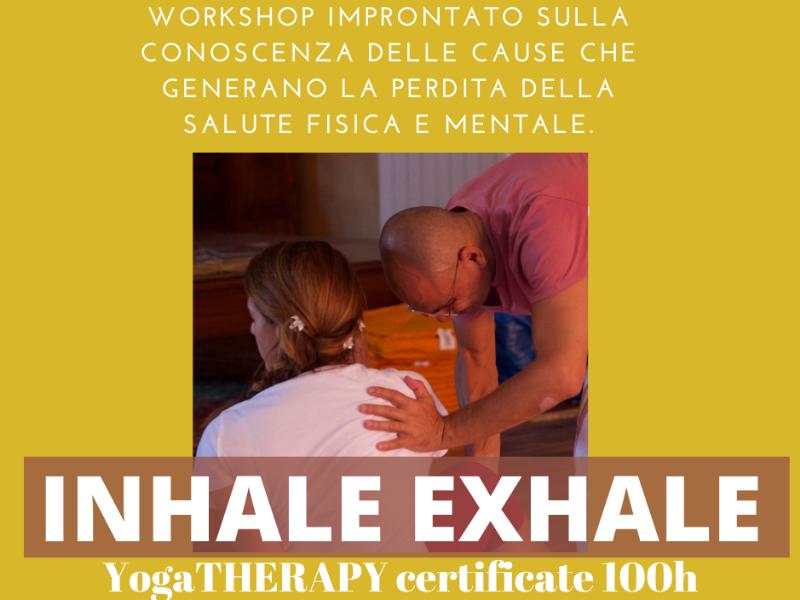 Olisticmap - YOGATHERAPY  certificate 100h - 8 agosto 15 agosto