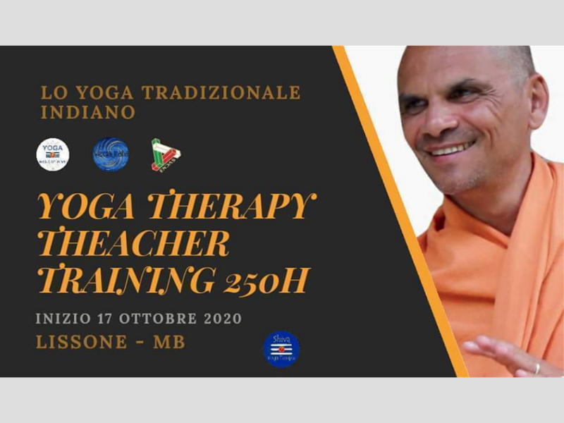 Olisticmap - YOGA THERAPY TEACHER TRAINING 250h - Lissone MB
