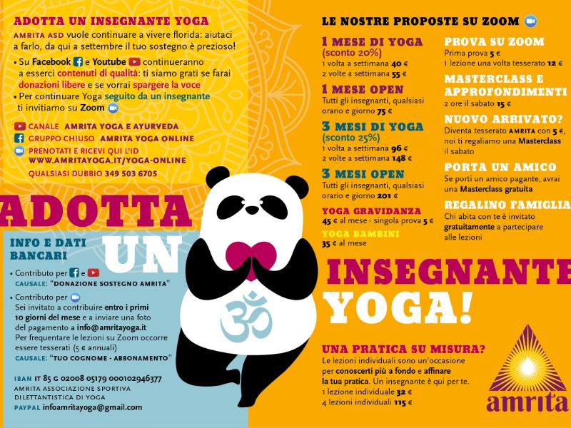 Olisticmap - Adotta un insegnante di Yoga