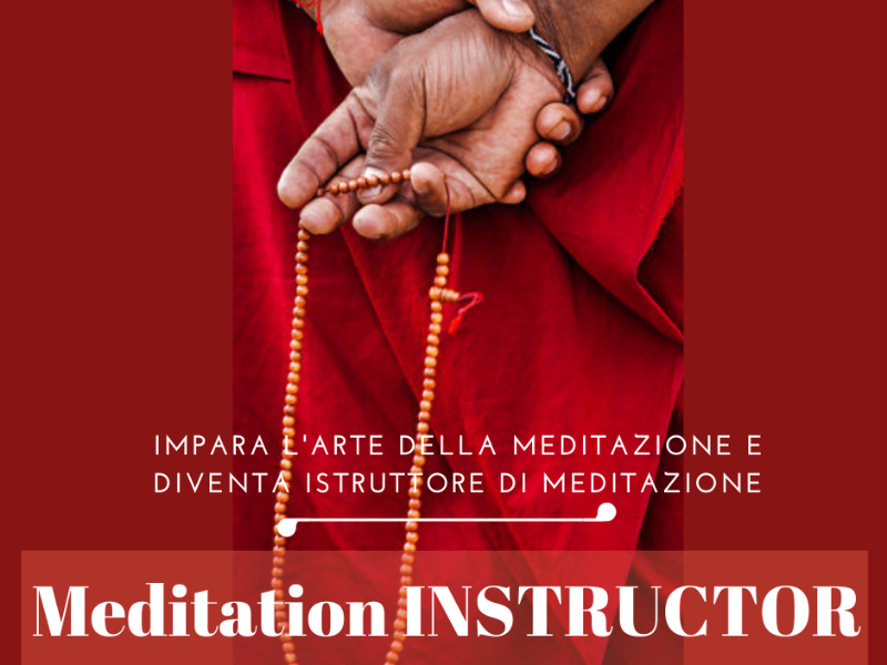 Olisticmap - MEDITATION INSTRUCTOR 15 - 22 agosto