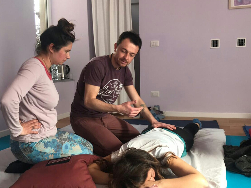 Olisticmap - Thai Yoga Massage, stile dinamico