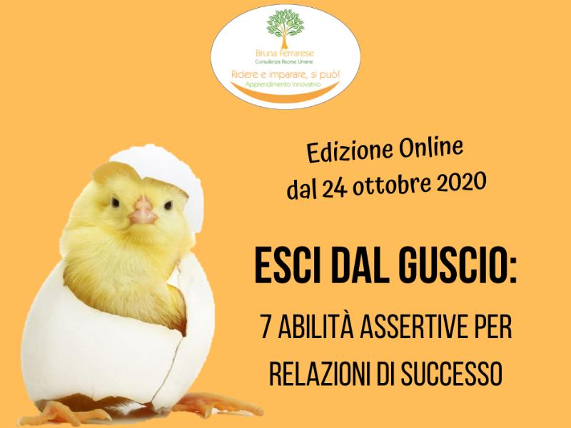 Olisticmap - ESCI DAL GUSCIO: 7 abilità assertive per relazioni di successo, ONLINE