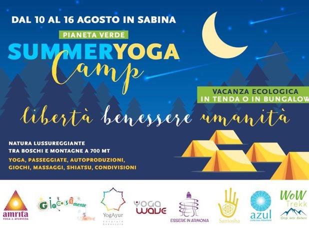 Olisticmap - SUMMER YOGA CAMP