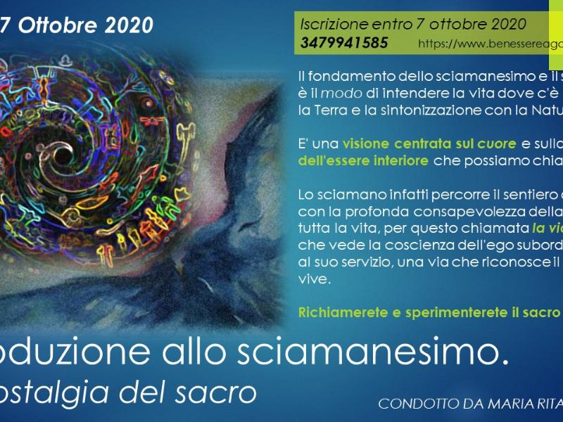 Olisticmap - Introduzione allo Sciamanesimo