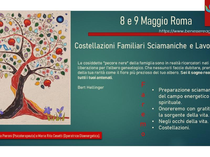 Olisticmap - Costellazioni Familiari Sciamaniche e Lavorative