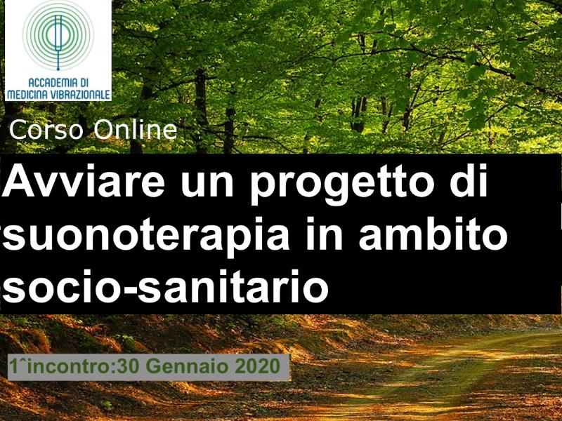 Olisticmap - Avviare un progetto di Suonoterapia in ambito socio-sanitario