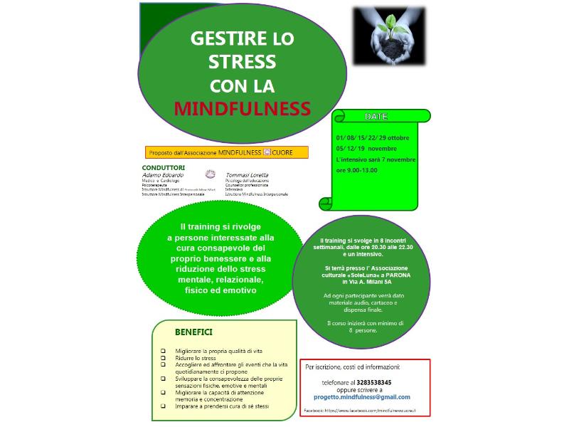 Olisticmap - GESTIRE LO STRESS CON LA MINDFULNESS