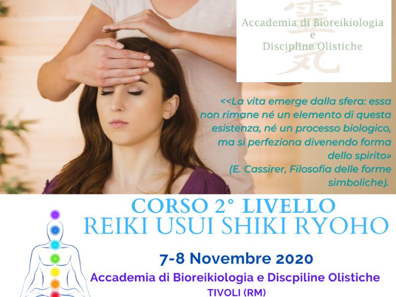 OlisticMap - SECONDO LIVELLO REIKI USUI SHIKI RYOHO