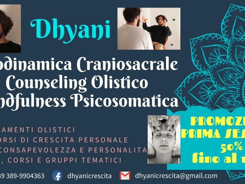 Olisticmap - Counseling, Craniosacrale, Mindfulness - Sessioni con Dhyani