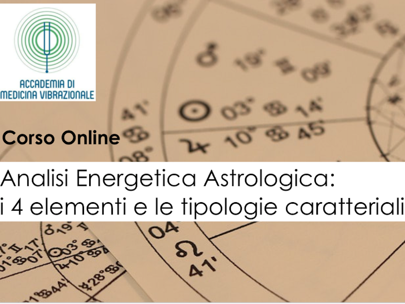 Olisticmap - Analisi Energetica Astrologica - Corso Online