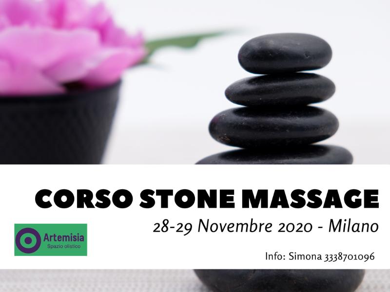 Olisticmap - Corso Stone Massage Milano