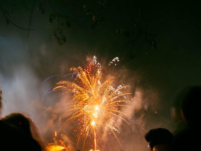 Olisticmap - Ritiro Di Capodanno Brucia il Vecchio E Saluta Il Nuovo