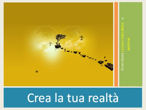 Olisticmap - Crea la tua realtà