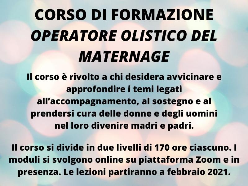 OlisticMap - Operatore Olistico del Maternage