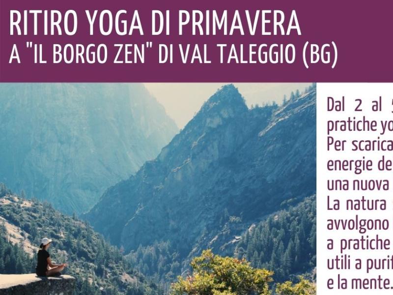 Olisticmap - RITIRO YOGA DI PRIMAVERA – 2/5 Aprile 2021