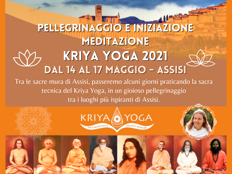 Olisticmap - Pellegrinaggio e Iniziazione - Ritiro Meditazione Kriya Yoga