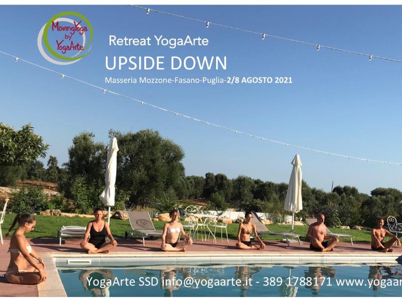 Olisticmap - Ritiro YogaArte Upside Down - Puglia