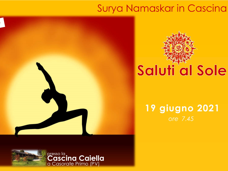 Olisticmap - 108 Saluti al Sole in Cascina