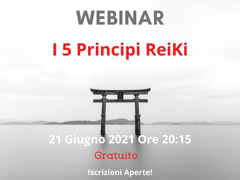 """Olisticmap - Webinar """"I cinque principi ReiKi"""""""
