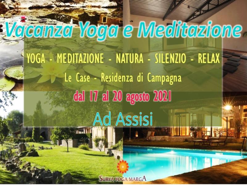 Olisticmap - Vacanza Yoga e Meditazione ad Assisi