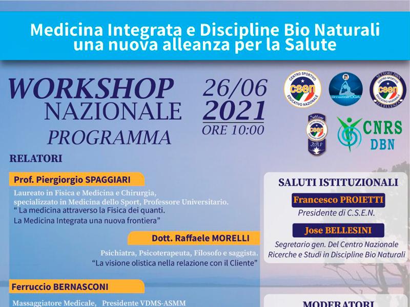 Olisticmap - Workshop Online Medicina Integrata e Discipline Bionaturali
