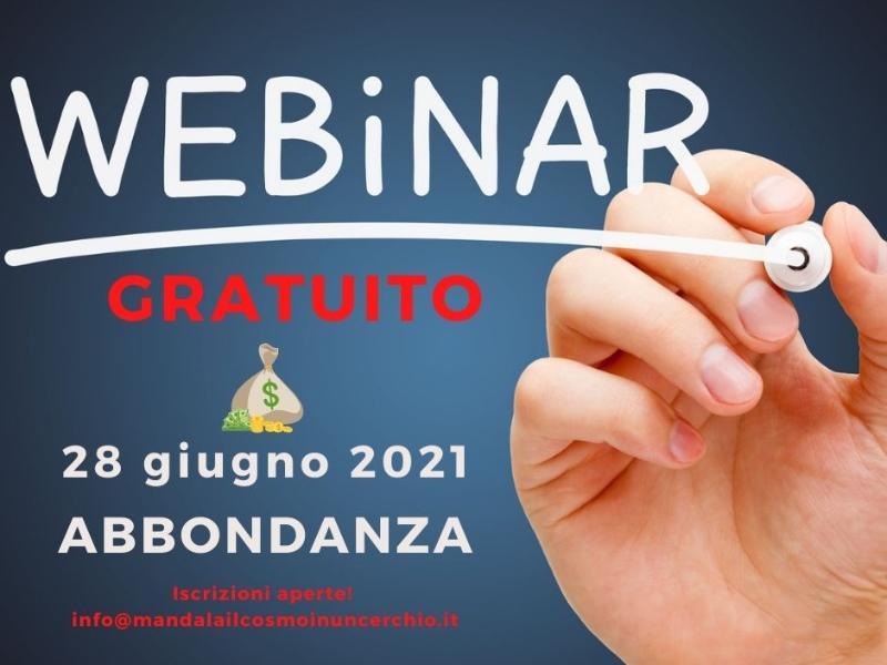 Olisticmap - Abbondanza - Webinar Free Mandala