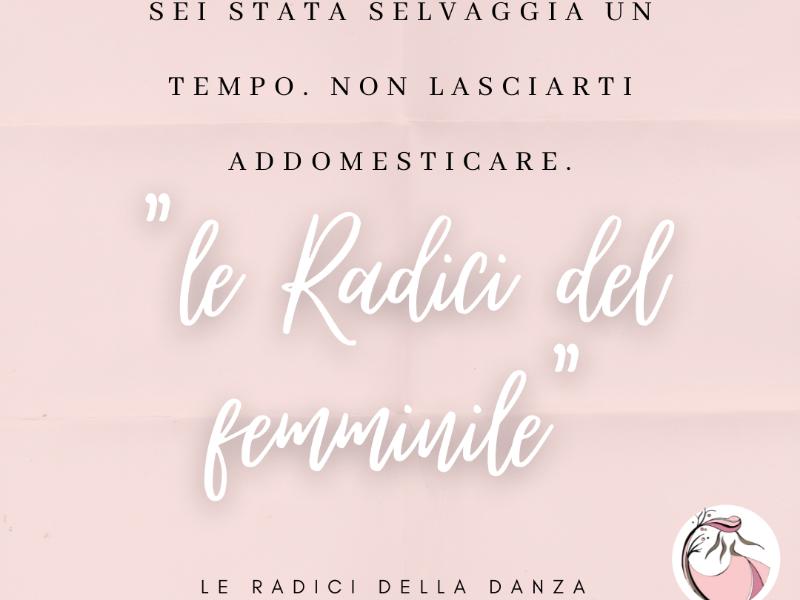 Olisticmap - LE RADICI DEL FEMMINILE - incontri estivi