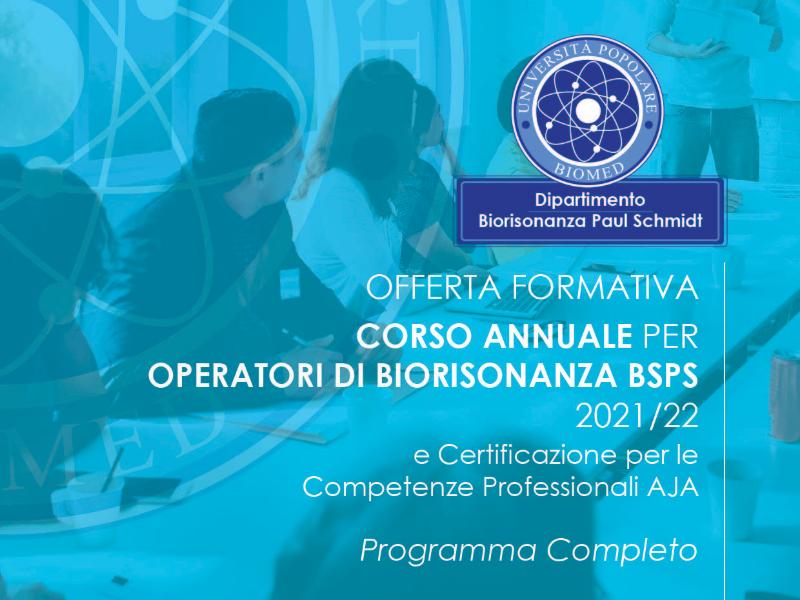 Olisticmap - Corso annuale per Operatori di Biorisonanza secondo Paul Schmidt