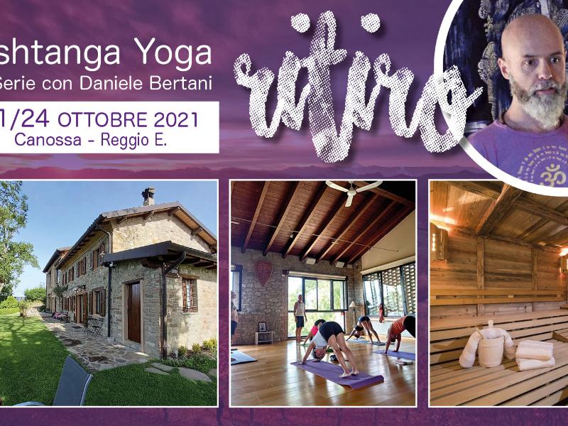 Olisticmap - Ritiro Ashtanga Yoga con Daniele Bertani – Canossa (RE) 21-24 OTTOBRE