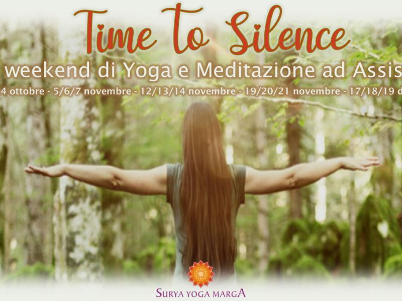 Olisticmap - Time to Silence - Yoga e Meditazione