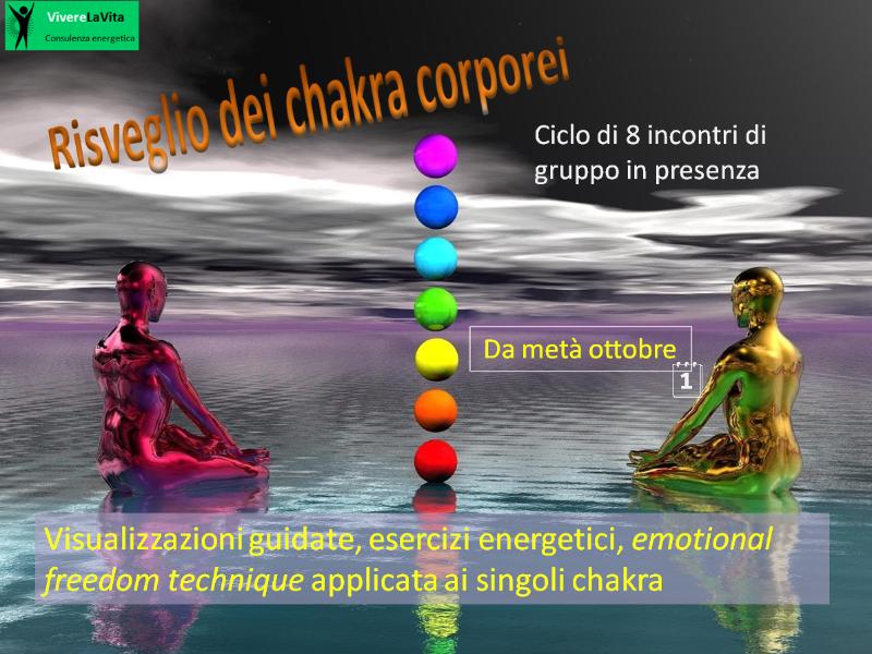 Olisticmap - Risveglio dei chakra corporei
