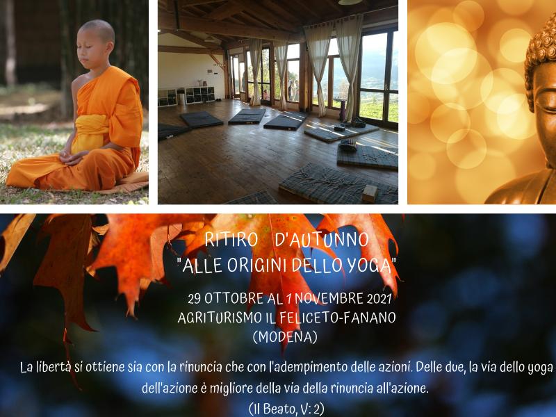 Olisticmap - Ritiro d'Autunno  - Alle Origini dello Yoga