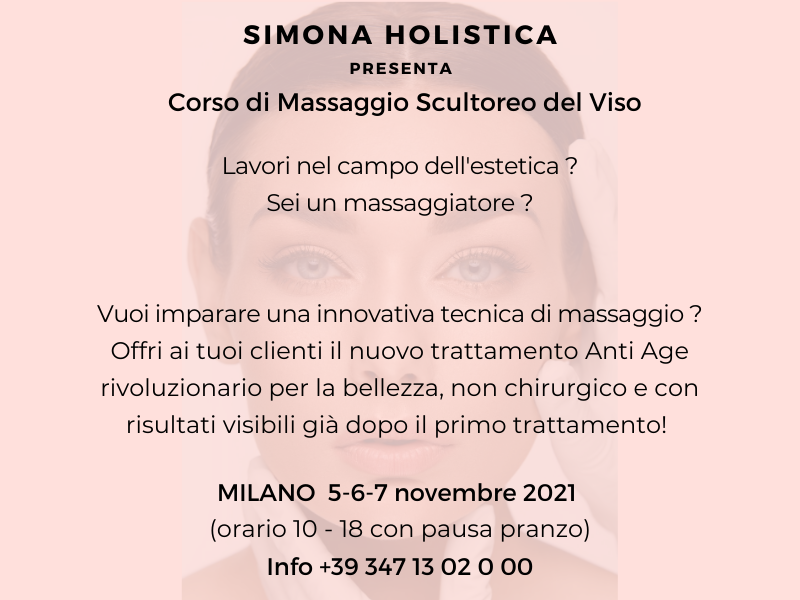 Olisticmap - CORSO DI MASSAGGIO SCULTOREO DEL VISO