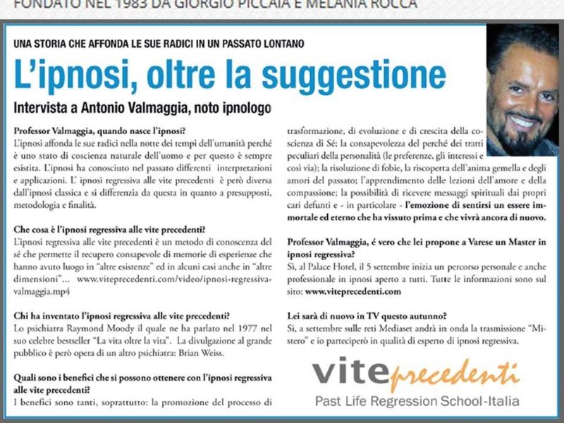 OlisticMap - Past Life Regression School - Italia