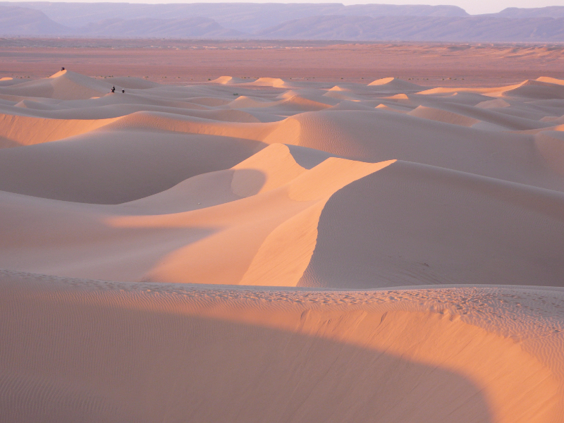 OlisticMap - A piedi in silenzio nel deserto marocchino a Capodanno