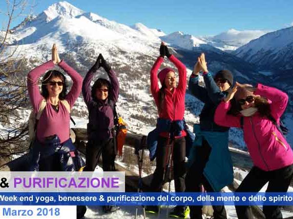 OlisticMap - Week end Yoga & Purificazione in montagna...