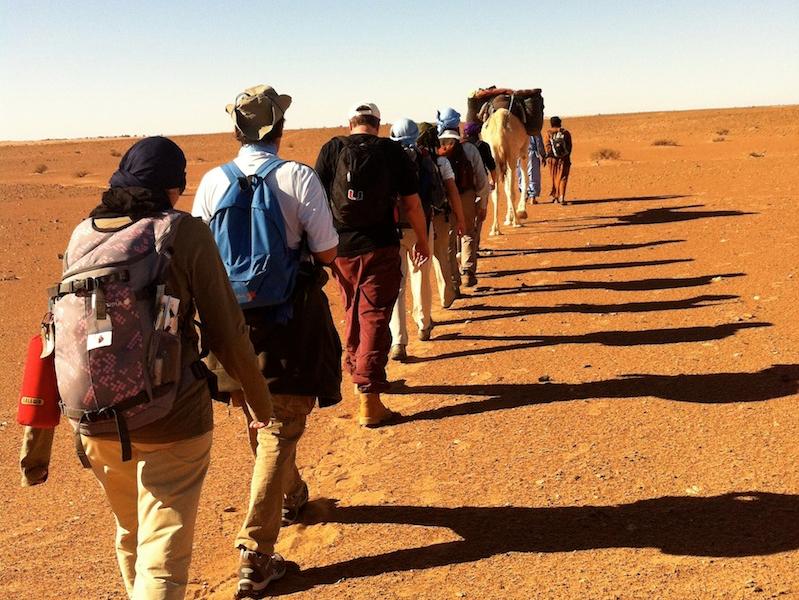 OlisticMap - A piedi in silenzio nel deserto a Capodanno